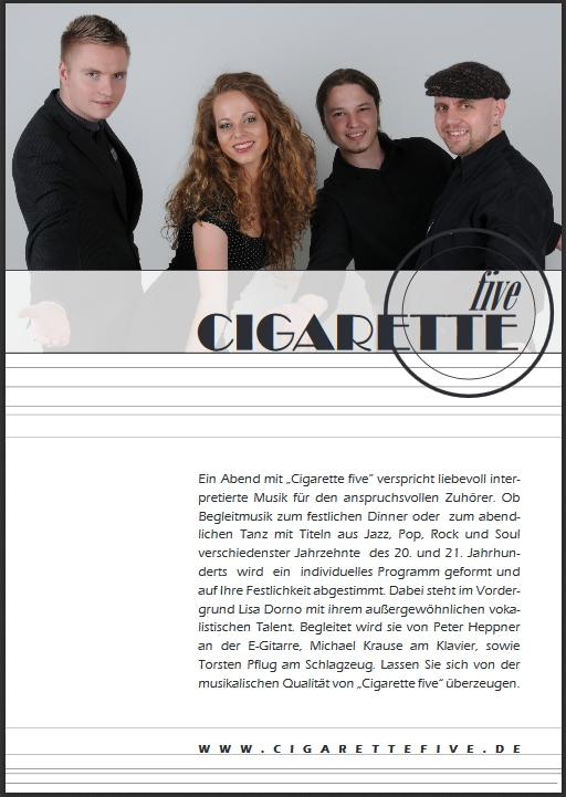 Flyer Cigarettefive